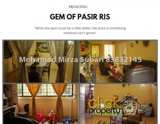 .. Crown of Pasir Ris..5i Blk 212 Street 21 for Sale